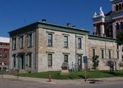 The Old Jail Museum, Dubuque, Iowa.