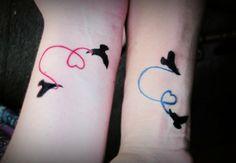 Tatuajes Inspiradores para San Valentín - Twin Tattoos