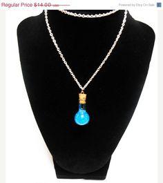 Final Fantasy potion necklace Hp Necklace by KingsfieldInn on Etsy