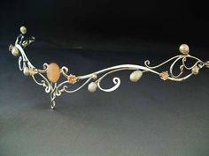 Aurora Bridal Circlet - Click Image to Close