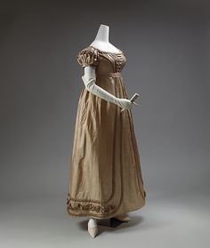 Dress Date: 1819–23 Culture: European Medium: silk Dimensions: [no dimensions available] Credit Line: Gift of Mr. Lee Simonson, 1939