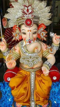 Jai Ganesh, Ganesh Lord, Shree Ganesh, Ganesha Art, Krishna Art, Ganesh Pic, Ganesh Rangoli, Lord Vishnu, Ganesh Chaturthi Greetings