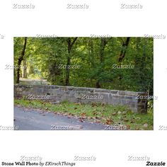 Stone Wall Photo Poster