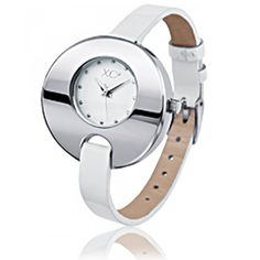 Ladies stainless steel KANGHAI white watches - Xc38