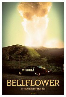 High resolution official theatrical movie poster ( of for Bellflower Image dimensions: 1200 x Directed by Evan Glodell. Best Movie Posters, Film Posters, Music Posters, Film Movie, Hd Movies, Weapon Of Mass Destruction, Yellow Background, Llamas, Movie Trailers