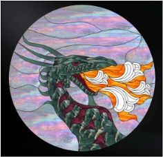 Beveled Stained Glass Patterns on CD, 60 Stained Glass Designs