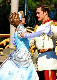 Be a Disney Princess. Disney Nerd, Disney Love, Disney Magic, Walt Disney, Disney Style, Cinderella Prince, Cinderella And Prince Charming, Disney Couples, Disney Girls