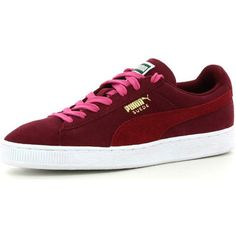 Puma suede classic wn's dames sneakers (Rood)
