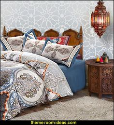 Moroccan Bedding Moroccan Wall Stencil Moroccan Bedroom Decorating Ideas  Moroccan Themed Part 66