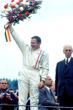Bruce McLaren wins the 1968 Belgian GP, the first in his own McLaren car Louis Chiron, Spanish Grand Prix, Bruce Mclaren, Belgian Grand Prix, Mclaren Cars, Monaco Grand Prix, Racing Events, Mc Laren, F1 Drivers
