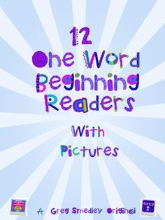 This is a set of 12 emergent readers that uses common vocabulary and pictures and are designed for beginning readers at the beginning of the school...