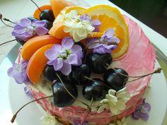 Gluten free apricot-orange cake.Summer variation. Real Food Recipes, Gluten Free, Table Decorations, Orange, Eat, Kitchen, Summer, Home Decor, Glutenfree