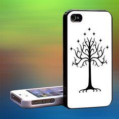 gondor logo white Custom Case iPhone CaseSamsung by laskarspelangi, $14.89