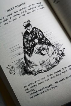 Illustration from PL Travers book Mary Poppins
