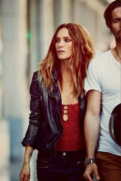 Erin Wasson in Free People's March Lookbook