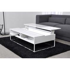 table basse design avec rangements intégrés deploy | meuble ... - Axe Design Meuble