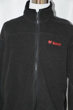Bobcat Mens XL Vantage Black Full Zip Up Fleece Jacket Coat Warm Long Sleeve #Vantage #FullZip Mens Xl, Online Price, Zip Ups, Warm, Coat, Long Sleeve, Jackets, Black, Fashion