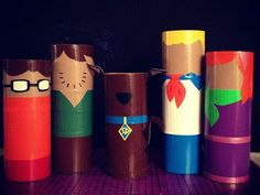 Scooby Doo crafts | scooby doo Try Some Art With These 33 Toilet Paper Roll Crafts #ScoobyDoo
