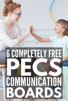 Getting Started with PECS for Autism at Home   If you're the parent of a child with nonverbal autism who needs speech therapy ideas to help your child learn an alternative form of communication, these PECS communication resources are for you! We've included free printables and downloads, PECS pictures, books, schedules, and boards, hands on DIY ideas and speech therapy activities for nonverbal children, and more! #autism #nonverebalautism #ASD #speechtherapy