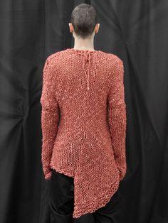 Damir Doma AW08 asymmetrical knit sweater