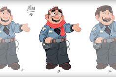 Making of | A criaçao de Justino, personagem do comercial da loteria espanhola - Blue Bus