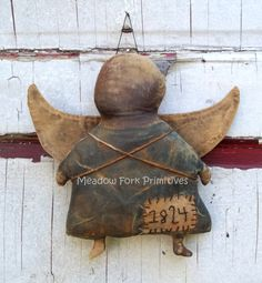 Primitive 1824 Angel Plain and Simple by MeadowForkPrims on Etsy, $24.00