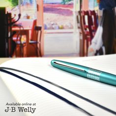 JBWelly.com Big enough for your ideas, small enough to take with you everywhere. The all-new B5 Composition size journal from Leuchtturm1917. Available with lines or dot grid. The pen is a Pilot Metropolitan in Turquoise. Write on!  #bujo #bulletjournal #bulletjournalling #bulletjournalcommunity #plannerlove #plannernerd #planneraddict #pilot #pilotpen #pilotpenusa #pilotmetropolitan #leuchtturm #leuchtturm1917 #notebook #journal #journaling #write #writer #writing #handwriting #jbwelly