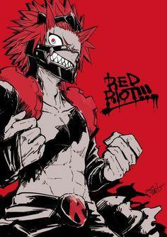 Kirishima Eijirou/Red Riot