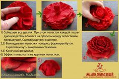 Шерстяная роза. - Ярмарка Мастеров - ручная работа, handmade