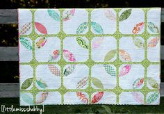 Quilters love the cathedral window quilt pattern, and so they should. This beautiful, understated design allows for a lot of creativity and fun. The Cathedral Windows in Springtime quilt takes that element of fun and combines it with the fresh start of spring, with all the excitement and beauty of brand-new flowers.