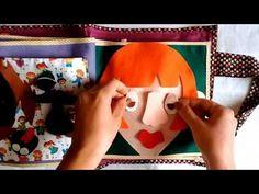 Livro Sensorial/ Quiet Book 2 - Lady Ateliê - YouTube