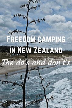 Freedom campingin New Zealand