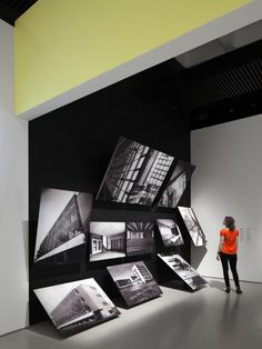 Barbican Bauhaus Exhibition by A Practice for Everyday Life--I'm enjoying the atypical photo layout/installation.