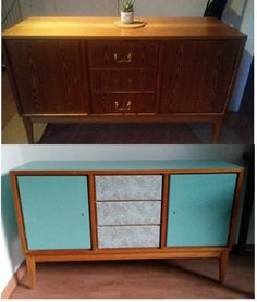 Before & After - Retro sideboard
