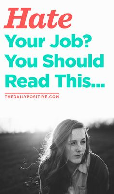 The average person spends 90,000 hours at work in their lifetime. That's about one-third of your waking time on this earth. If you hate your job, there's a good chance you hate your life. Here are few scary statistics job haters should look out for!