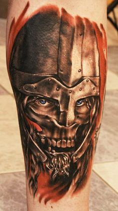 Realism Warrior Tattoo by Igor Igoryoshi | Tattoo No. 3940