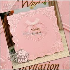 Wholesale Wedding invitations,thank you card,Western-style wedding invitations/ $0.67-0.9/Piece