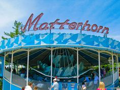 Matterhorn ride at Cedar Point, Ohio