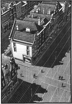 Delft - M.C. Escher - 1939