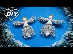 Какие они симпатичные/2 АНГЕЛОЧКА ИЗ 2 КВАДРАТОВ ФОМА/Christmas Angel/Ángel de navidad/Anjo de natal - YouTube Foam Christmas Ornaments, 3d Christmas, Ball Ornaments, Christmas Balls, Christmas Angels, Christmas Decorations, Diy Bow, Diy Ribbon, Diy Tiara