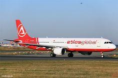 TC-ATB,  Bild vom 25.08.2016 in Frankfurt, FRA, CN 1503, Airbus A321-211, Atlasjet