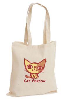 Cat Person Bez Çanta   zet.com