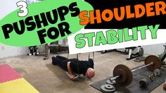 In this video, I demonstrate 3 pushup variations that really test your shoulder strength and shoulder stability. First is the banded suspension pushup that i. Stability, Push Up, Strength, Shoulder