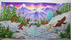 Winter Wonderland #mythomorphia  #adultcoloring #malenfürerwachsene #kerbyrosanes