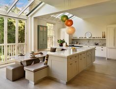 Custom Kitchen Island With Breakfast Seating White Modern Kitchen Island Dining Table White Granite Countertop Bench