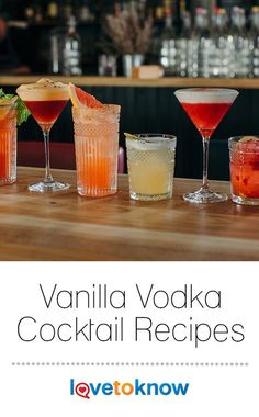 Vanilla Vodka Drinks Vanilla vodka is a versatile spirit for cocktails with clean flavors that combine well with many other flavors. Vanilla brings a mellow sweetness to cocktails, while vodka has a clean, pure taste that mixes well. Vanilla Vodka Recipes, Flavored Vodka Drinks, Vodka Mixed Drinks, Vanilla Rum, Alcohol Drink Recipes, Vanilla Flavoring, Alcoholic Drinks Vanilla Vodka, Irish Cream, Slushies