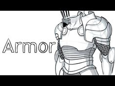 Let's Draw: Armor! Guy Drawing, Drawing Armor, Drawing Stuff, Drawing People, Drawing Tips, Drawing Reference Poses, Art Reference, Draw With Jazza, Sword Poses