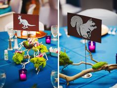 Purple and Blue Seattle Zoo Wedding {Part 2}