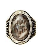 From the Museum of London. I wish this were mine. ring; mourning ring - Google Art Project