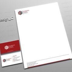Winning Design By Ionio  Company Stationery